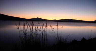 Fishing Wickiup Reservoir